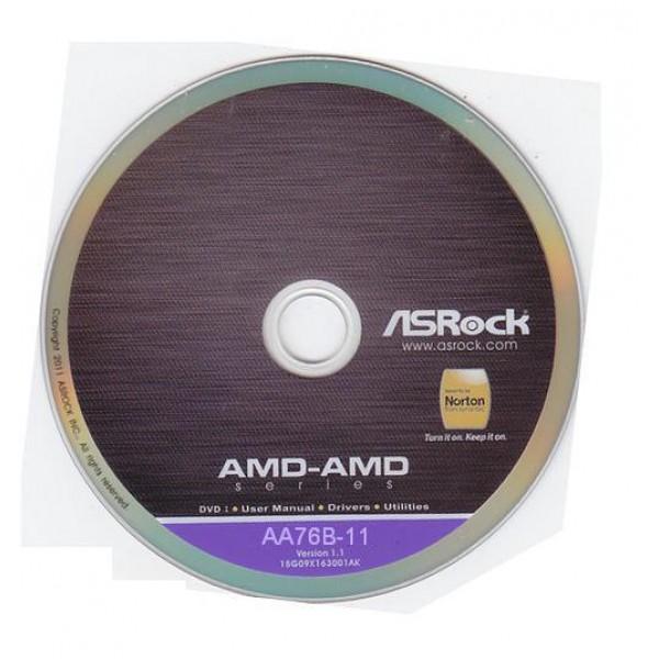 original ASRock Mainboard Treiber CD DVD 960GM-VGS3 FX *47