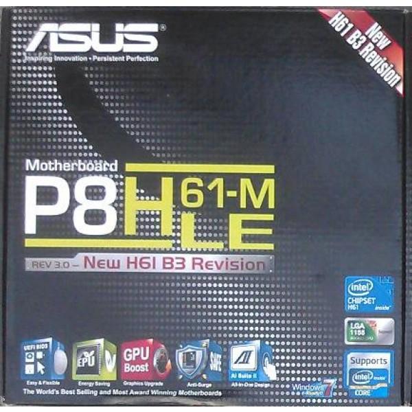 Zubehoer Asus P8H61-M LE manual CD DVD s-ata3 Kabel i/o