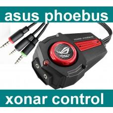 Asus ROG Xonar Phoebus control box Regler headset mikro Kopfhörer o. Soundkarte