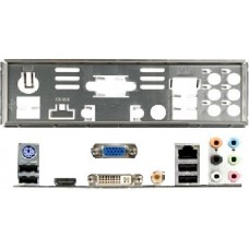 ATX Blende I/O shield Abit AN78GS A-S78H #420 OVP NEU io schield backplade NEW
