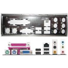 ATX Blende I/O shield ASRock 775i65PE K8 upgrade NF3 #804 io new NEU OVP bracket