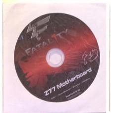 original ASRock Mainboard Treiber CD DVD Z77 performance *53 Win 7 Vista driver