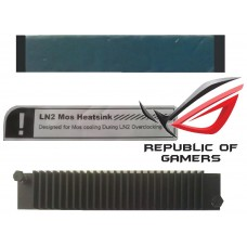 original asus VRM Heatsink LN2 Mos HD7970 Matrix R.O.G. Wasserkühlung ROG NEU