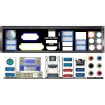 ATX Blende I/O shield Gigabyte GA-Z77X-UD3H #514 io NEU backplate bracket 1508