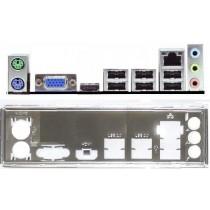 ATX Blende I/O shield Gigabyte GA-Z77P-D3 #518 io backplate bracket OVP NEU