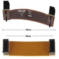 nVidia SLI Bridge Bruecke flexibel flex 60mm NEU OVP 6cm new Adapter cable Kabel