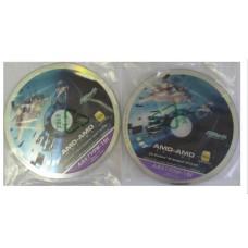 original ASRock Mainboard Treiber 2 Stueck CD DVD *42 AOD790GX /128M NEU NEW OVP