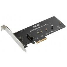 Asus X99 deluxe Hyper M.2 X4 SSD PCI-E Karte Erweiterung Card Express NEU new