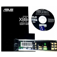 original asus X99-Deluxe Set Treiber CD DVD driver i/o shield manual Handbuch
