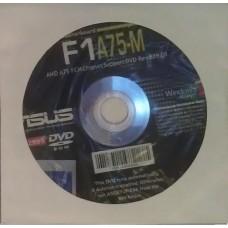 original asus Mainboard Treiber CD DVD F1A75-M Windows 7 Vista WIN XP Aufkleber