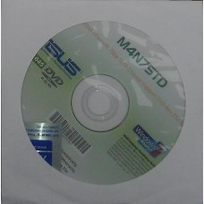 original asus Mainboard Treiber CD DVD M4N75TD Windows 7 Vista WIN XP Aufkleber