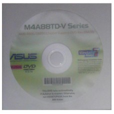 original Treiber Asus M4A88TD-V EVO CD DVD OVP NEU Windows XP Vista Win7 Sticker