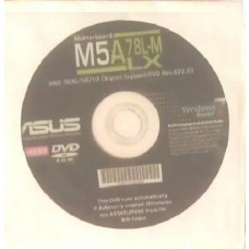 original Treiber Asus M5A78L-M LX CD DVD OVP NEU Windows XP Vista Win7 Aufkleber