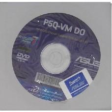 original asus Mainboard Treiber CD DVD P5Q-VM DO Windows 7 Vista Win XP Sticker