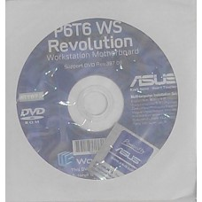 original asus Mainboard Treiber CD DVD P6T6 WS Revolution NEU WIN XP 7 Windows