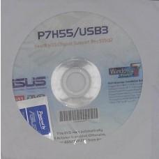 original asus Mainboard Treiber CD DVD P7H55 USB3 Windows 7 Vista Win XP Sticker