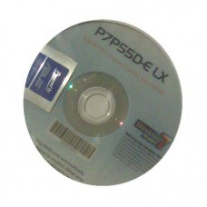 original Treiber Asus P7P55D-E LX CD DVD OVP NEU Windows 7 XP Vista Aufkleber
