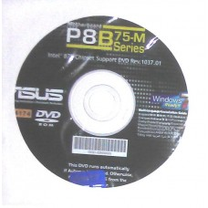 original asus Mainboard Treiber CD DVD P8B75-M WIN XP 7 8 Windows NEU new driver