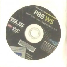 original asus Mainboard Treiber CD DVD P8B WS Windows XP 7 Vista Workstation