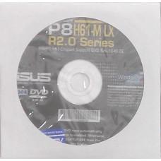 original asus Mainboard Treiber CD DVD P8H61-M LX R2.0 NEU WIN XP 7 8 Windows
