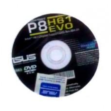 orig. Asus Mainboard Treiber CD DVD P8H61 EVO OVP NEU driver Aufkleber Windows