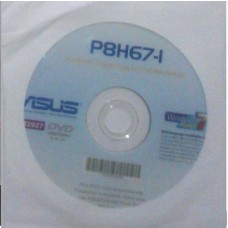 original Treiber Asus P8H67-I CD DVD OVP NEU Windows XP Vista Win 7 Aufkleber