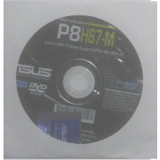 original Treiber Asus P8H67-M CD DVD OVP NEU Windows XP Vista Win 7 Aufkleber