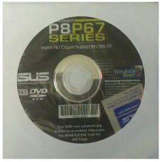 original Asus Mainboard Treiber CD DVD P8P67-Deluxe OVP NEU driver Aufkleber