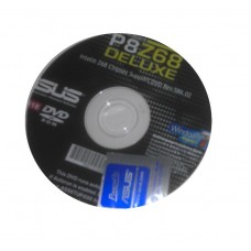 original Asus Mainboard Treiber CD DVD P8Z68 Deluxe OVP NEU driver Aufkleber Win