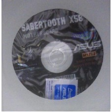 original Treiber Asus Sabertooth X58 CD DVD OVP NEU Windows XP Vista Win 7 Stick