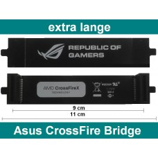 Asus 110mm CrossFire Bridge flexibel NEU OVP Brücke republic of gamers 11cm ROG