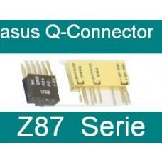 2 Stück Q-Connector Set Asus Z87 Z87-Pro Z87-Deluxe OVP NEU 2x new