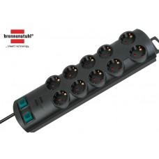 Brennenstuhl Primera-Line Steckdosenleiste 10-fach schwarz 2.50m H05VV-F 3G1.5