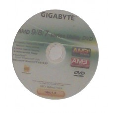 original gigabyte Mainboard Treiber CD DVD GA-970A-D3 NEU WIN XP 7 Vista Windows