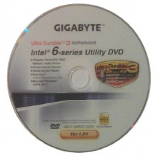 original gigabyte Mainboard Treiber CD DVD Intel GA-PA65-UD3 Win XP 7 Vista ~5
