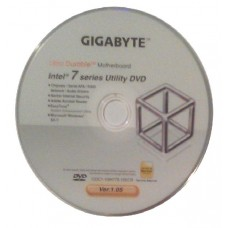 original gigabyte Mainboard Treiber CD DVD Intel GA-Z77-D3H Win XP 7 Vista ~8