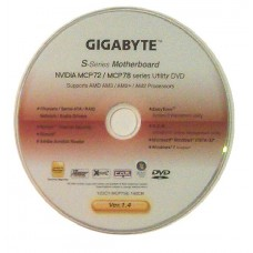 original gigabyte Mainboard Treiber CD DVD nVidia M85M-US2H Win XP 7 Vista ~10