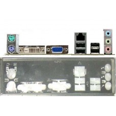 ATX Blende I/O shield ASRock N68PV-GS #1002 io OVP bracket NEU backplate new