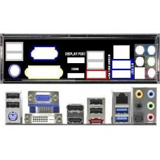 ATX Blende I/O shield ASRock H67M-GE / HT NEU io #131