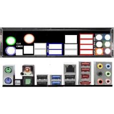 ATX Blende I/O shield ASRock P67 Extreme4 OVP NEU io #146 Extreme 4 schield