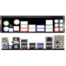 ATX Blende I/O shield ASRock X79 Extreme 3 OVP NEU #147 io backplate bracket new