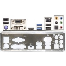 ATX Blende I/O shield ASRock B75 Pro3  #217 io schield NEU OVP H55DE3 backplate