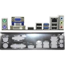 ATX Blende I/O shield ASRock B85M Pro3 #247 io bracket NEU OVP B75 new backplate