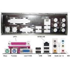 ATX Blende I/O shield ASRock M810LMR K7VT4 775S61 io #3