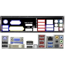 ATX Blende I/O shield ASRock Z77 Extreme6 #461 Extreme io NEU backplate bracket