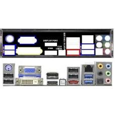 ATX Blende I/O shield ASRock FM2A85X Extreme6 #504 io schield NEU OVP bracket 6