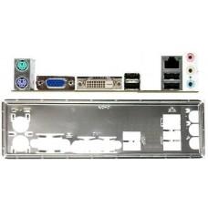 ATX Blende I/O shield ASRock FM2A55M-DGS #507 io schield NEU OVP bracket bracket