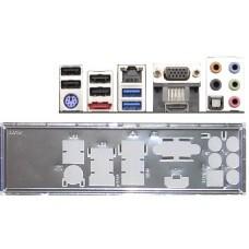ATX Blende I/O shield ASRock FM2A75M-ITX #509 io NEU OVP bracket bachplate NEW