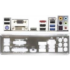 ATX Blende I/O shield ASRock H81M-ITX #690 io schield NEU bracket backplate new