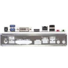 ATX Blende I/O shield ASRock H81TM-ITX #871 io new NEU OVP backplate bracket new